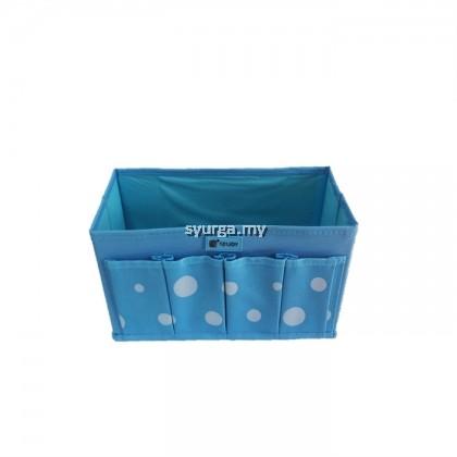4 Pocket Non-Woven Cosmetic Storage Box